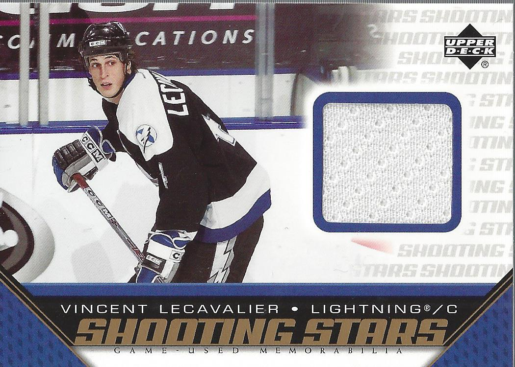 2005-06 Upper Deck Shooting Stars Jerseys #SVL Vincent Lecavalier
