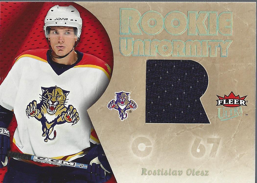 2005-06 Ultra Rookie Uniformity Jerseys #RURO Rostislav Olesz