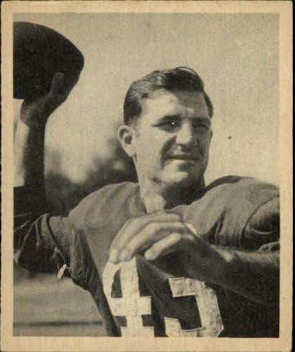 1948 Bowman #22 Sammy Baugh RC