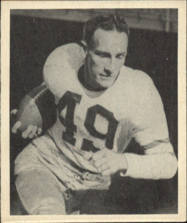 1948 Bowman #25 Pat McHugh RC