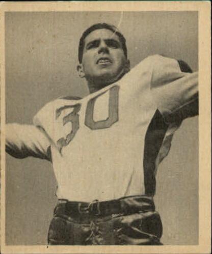 1948 Bowman #34 Bosh Pritchard RC