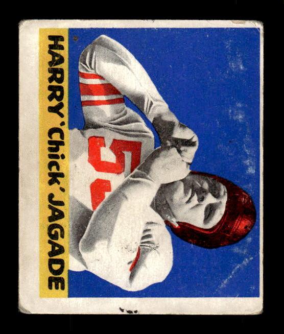 1948 Leaf #55 Chick Jagade RC
