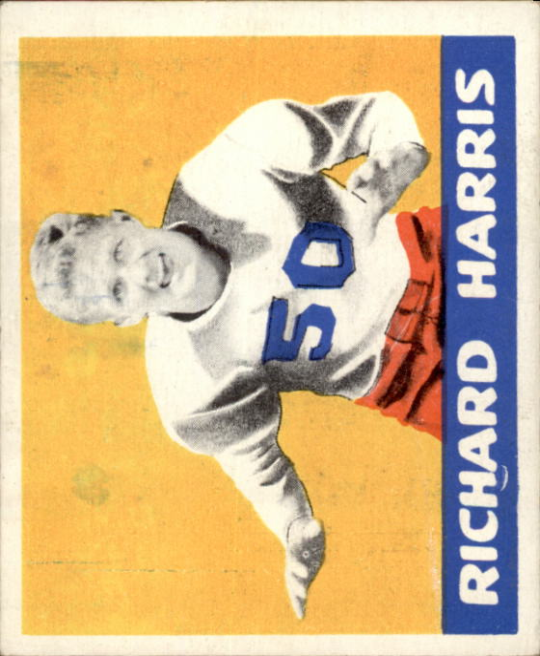 1948 Leaf #60 Dick Harris RC