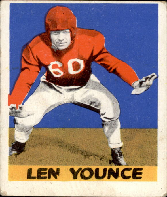 1948 Leaf #61 Len Younce RC