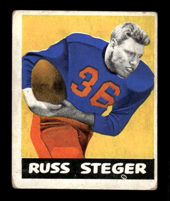1948 Leaf #74 Russ Steger RC