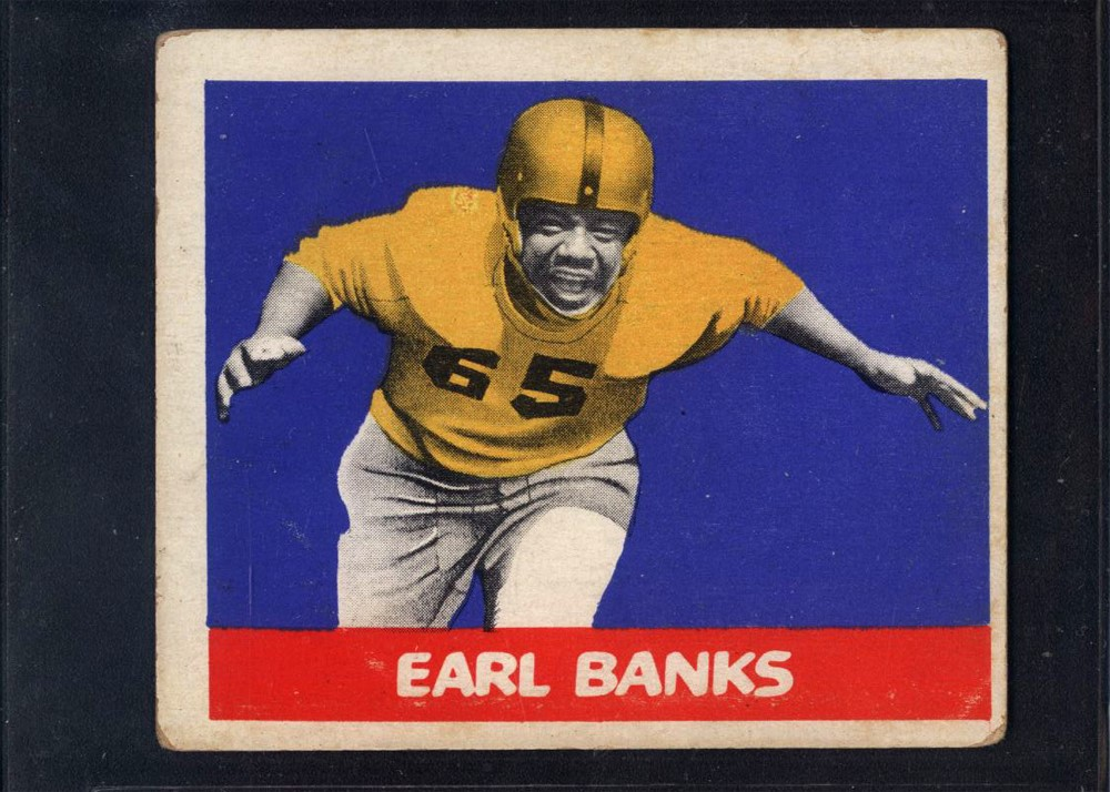 1948 Leaf #92 Earl Banks RC