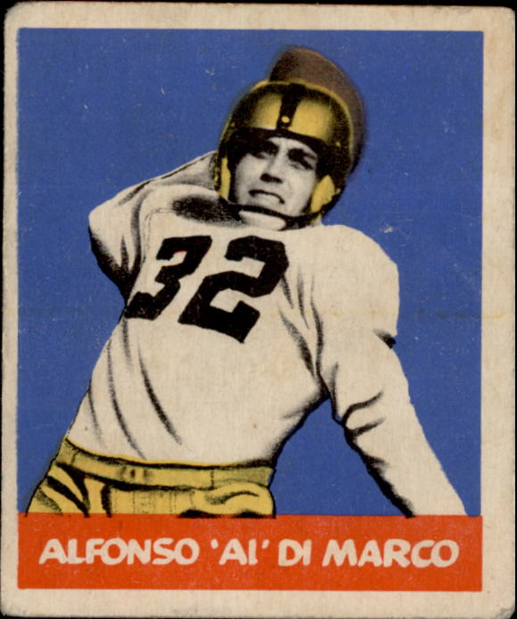 1948 Leaf #98A Al DiMarco BYP RC/bright yellow pants