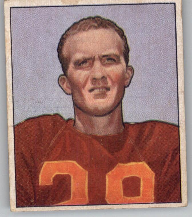 1950 Bowman #30 Hugh Taylor