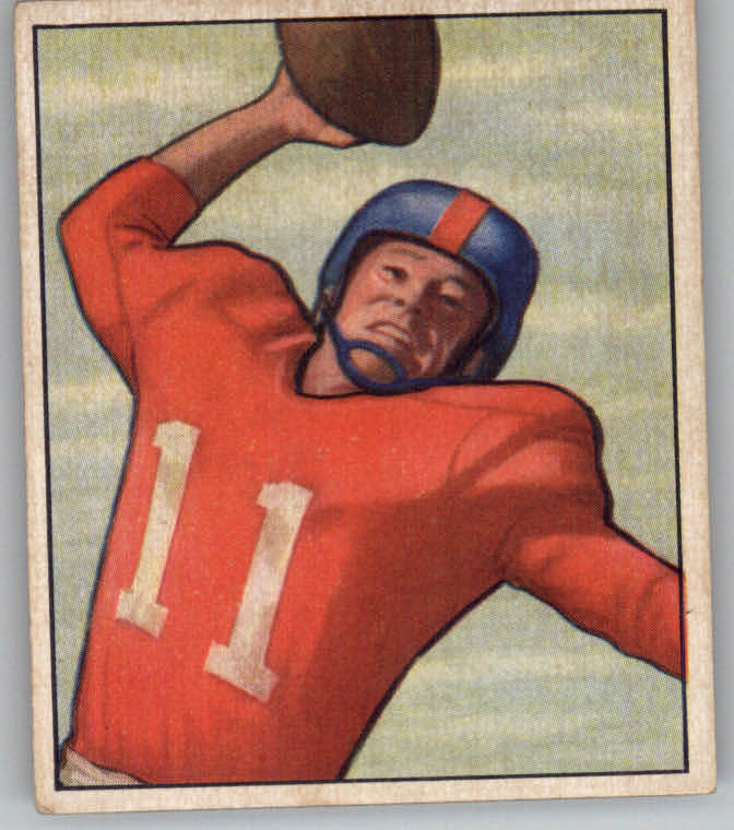 1950 Bowman #33 Travis Tidwell RC