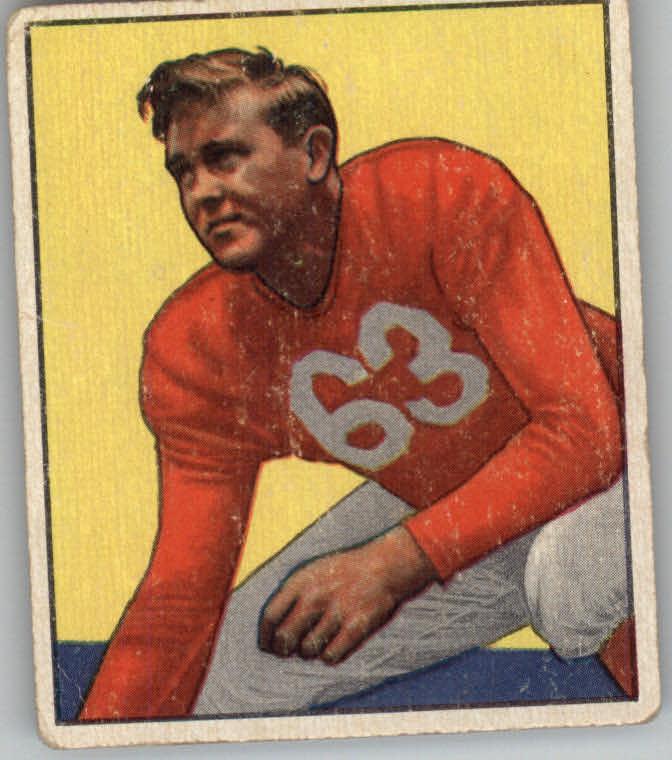 1950 Bowman #56 Bill Blackburn RC
