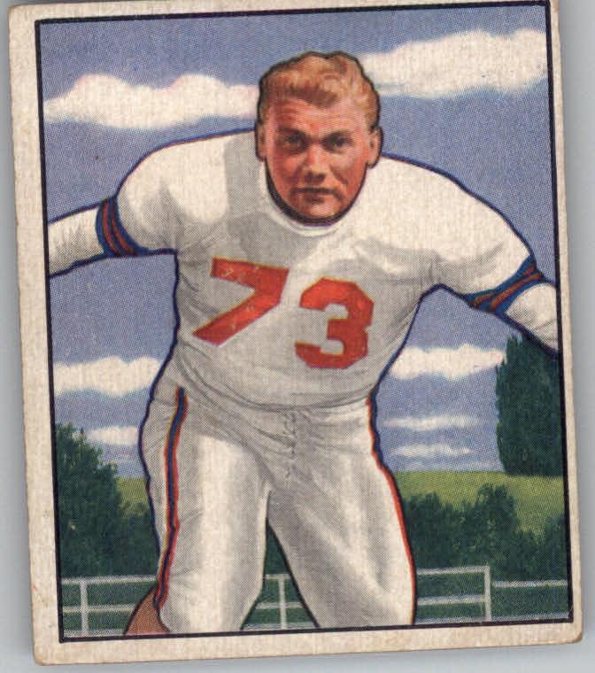 1950 Bowman #67 Bill Austin RC