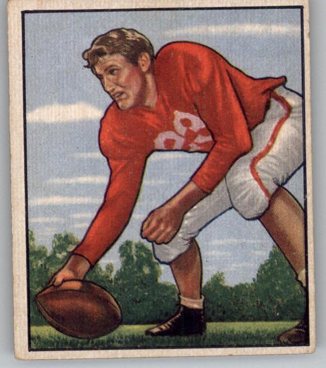 1950 Bowman #72 Bill Johnson C  RC