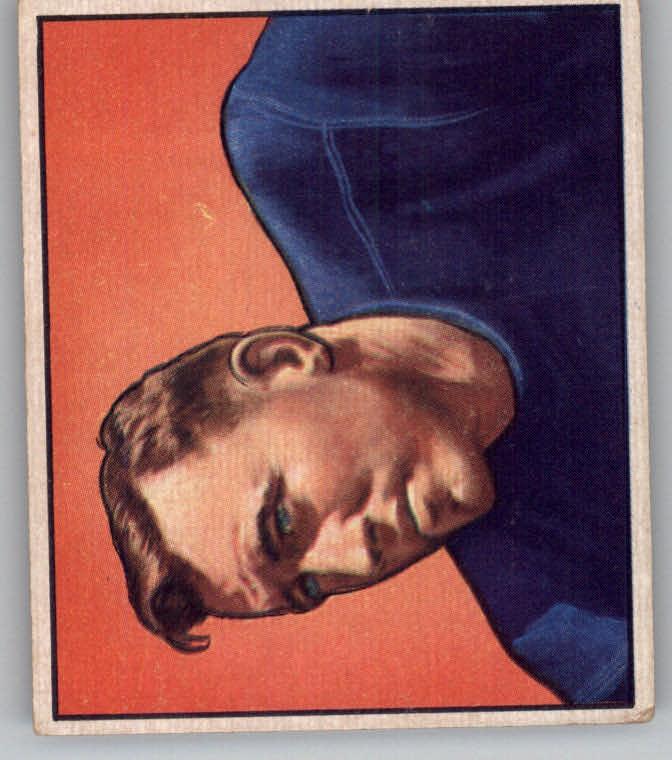 1950 Bowman #84 Barney Poole RC