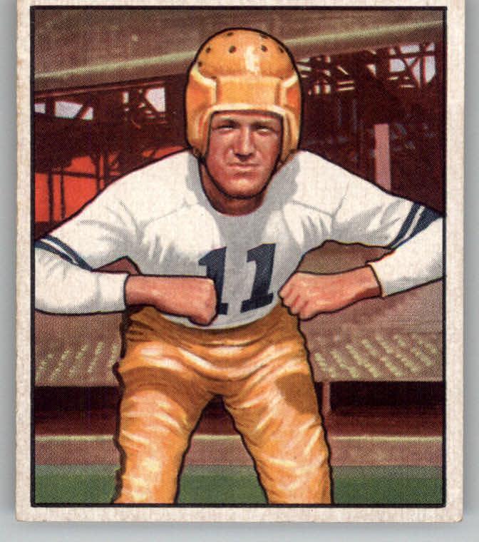 1950 Bowman #88 Howard Hartley RC