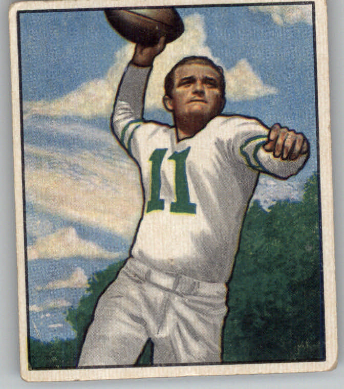 1950 Bowman #95 Tommy Thompson QB