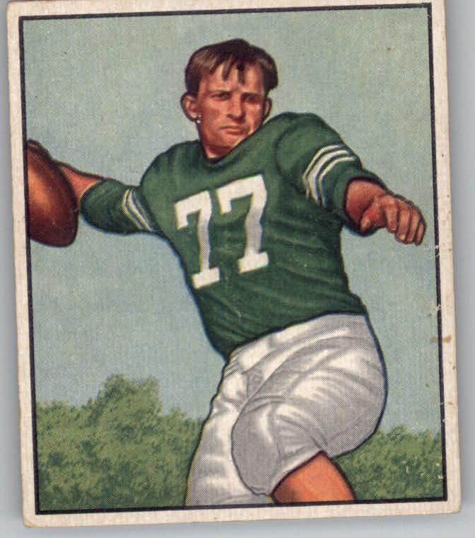 1950 Bowman #114 Chet Mutryn RC