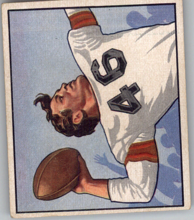 1950 Bowman #115 Ken Carpenter RC
