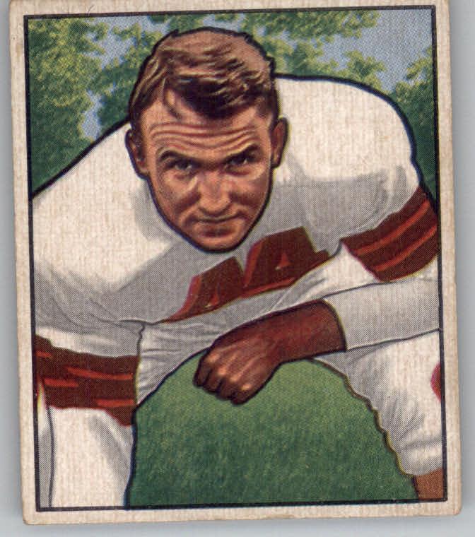 1950 Bowman #116 Lou Rymkus RC