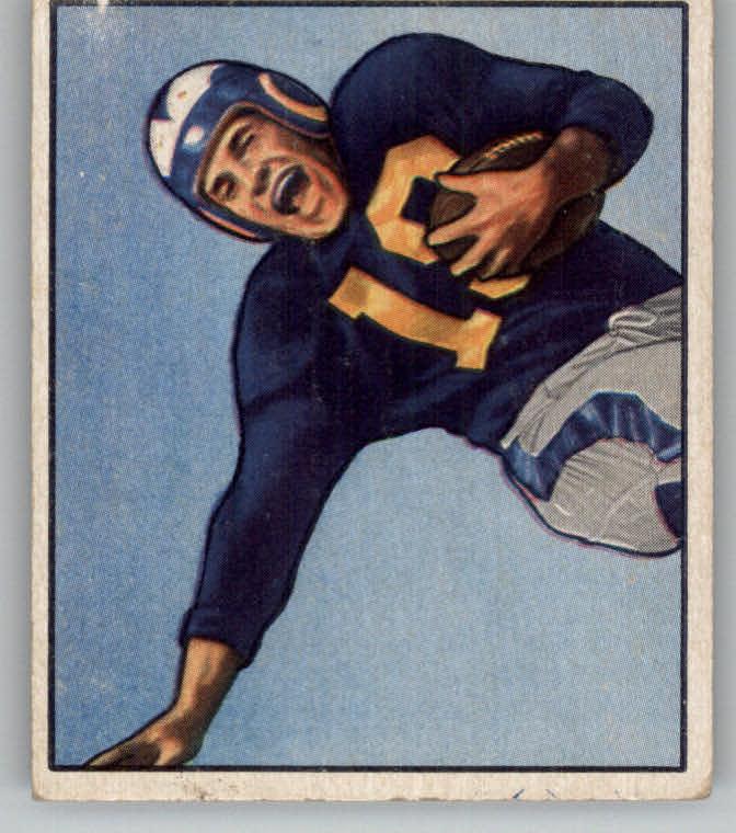 1950 Bowman #125 Tom Kalmanir RC