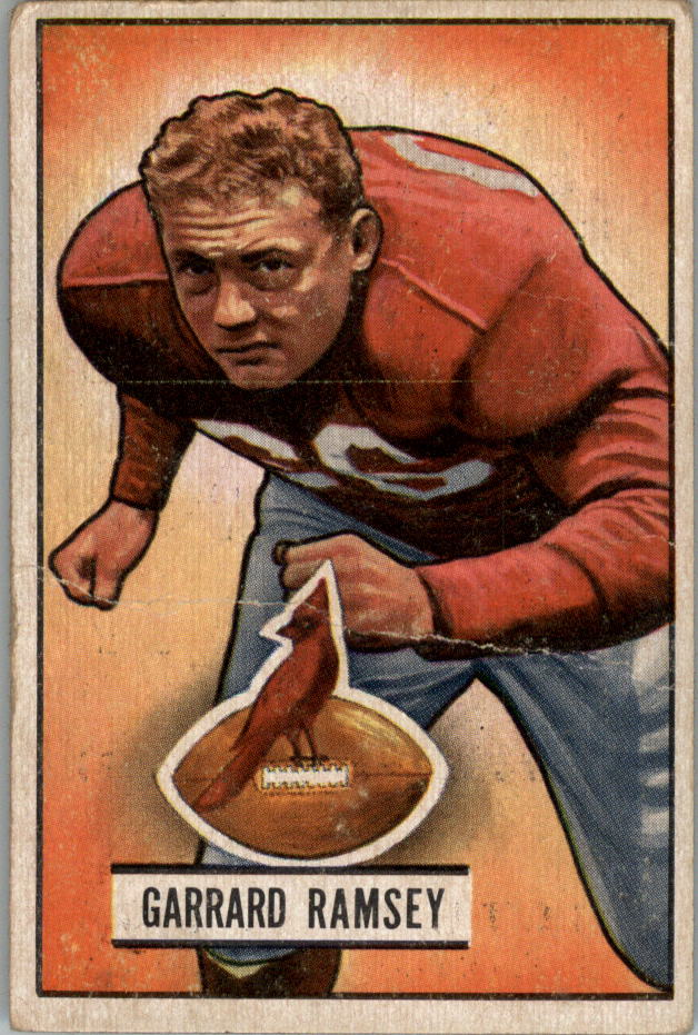 1951 Bowman #28 Buster Ramsey