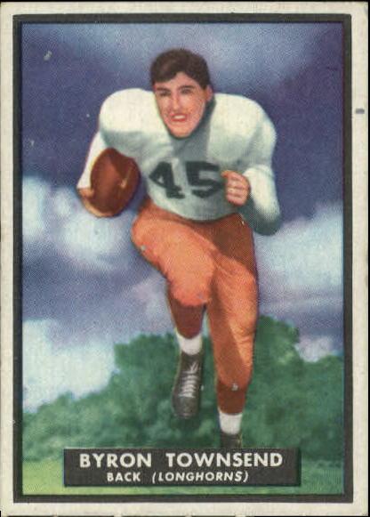 1951 Topps Magic #34 Byron Townsend RC