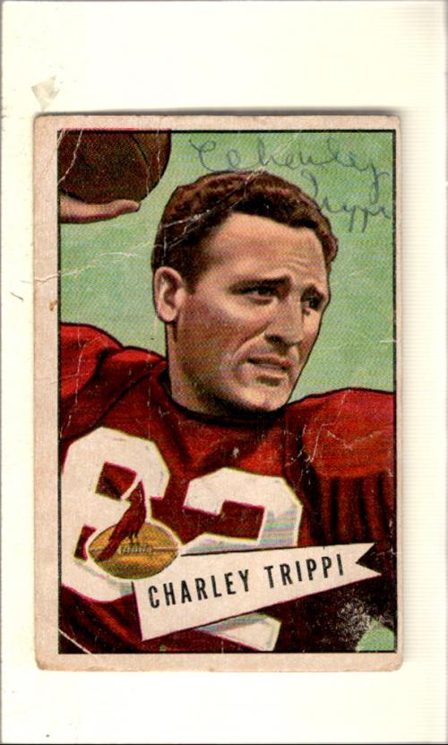 1952 Bowman Large #12 Charley Trippi