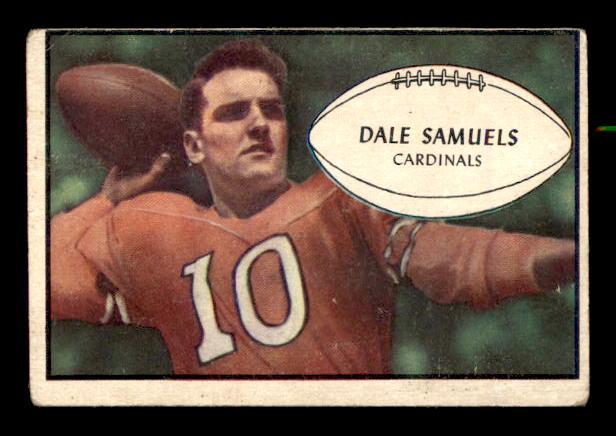 1953 Bowman #33 Dale Samuels