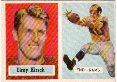 1957 Topps #46 Elroy Hirsch