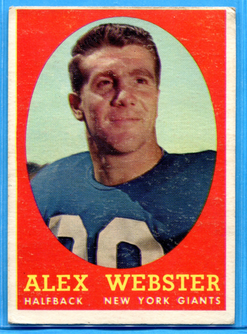 1958 Topps #30 Alex Webster