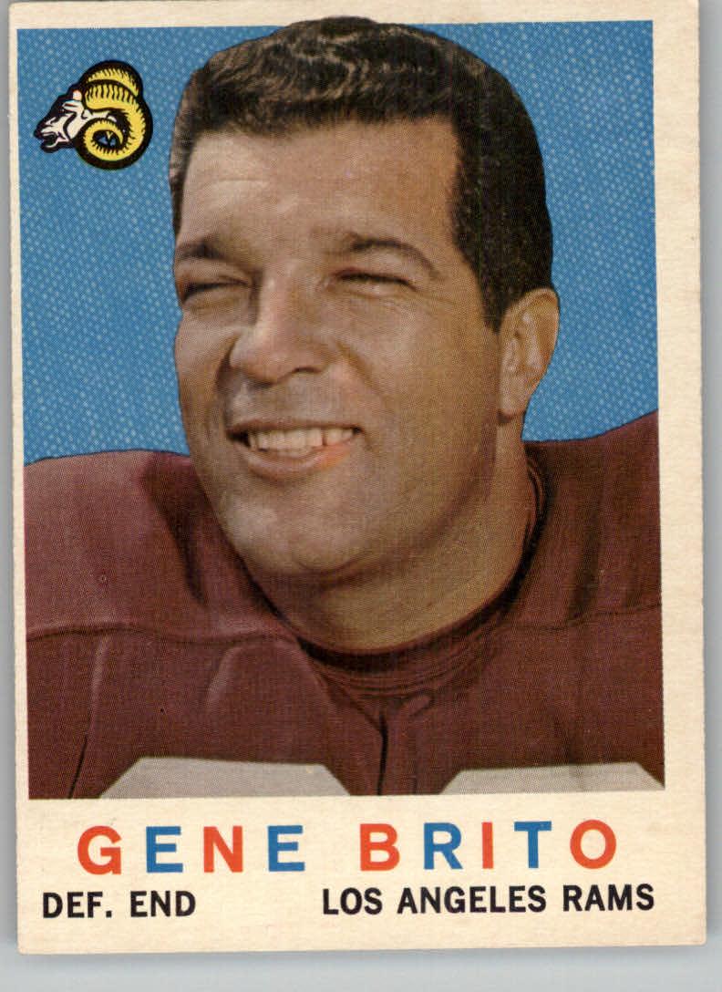 1959 Topps #2 Gene Brito