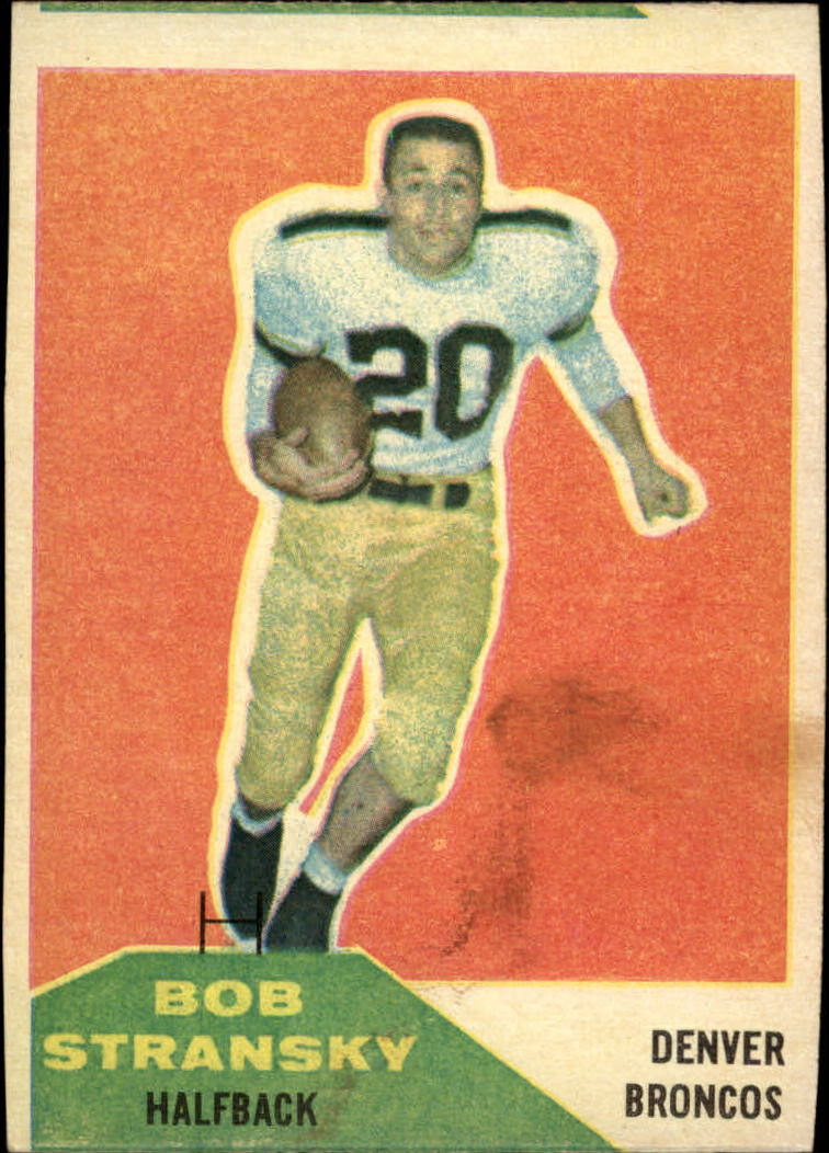 1960 Fleer #10 Bob Stransky RC