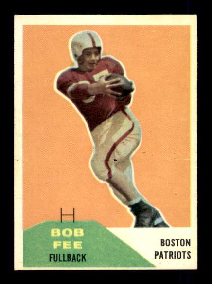 1960 Fleer #29 Bob Fee RC