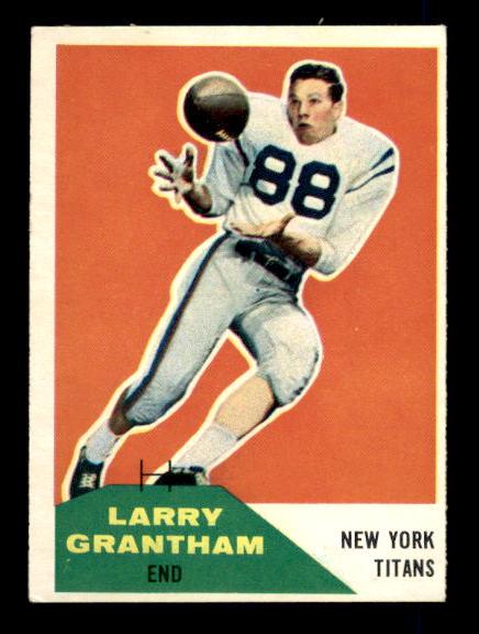 1960 Fleer #98 Larry Grantham RC