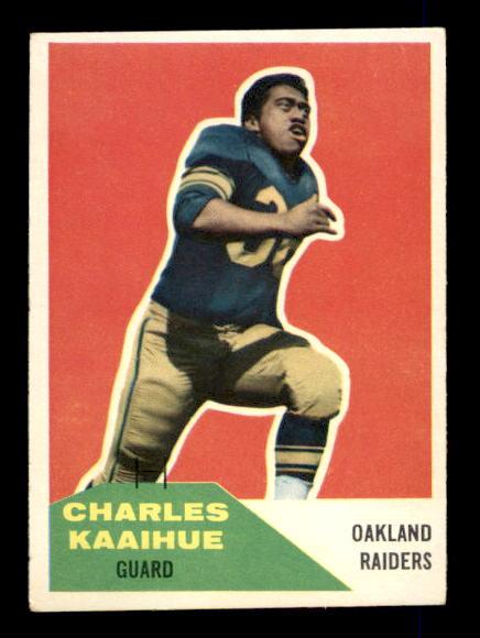 1960 Fleer #104 Charlie Kaaihue RC