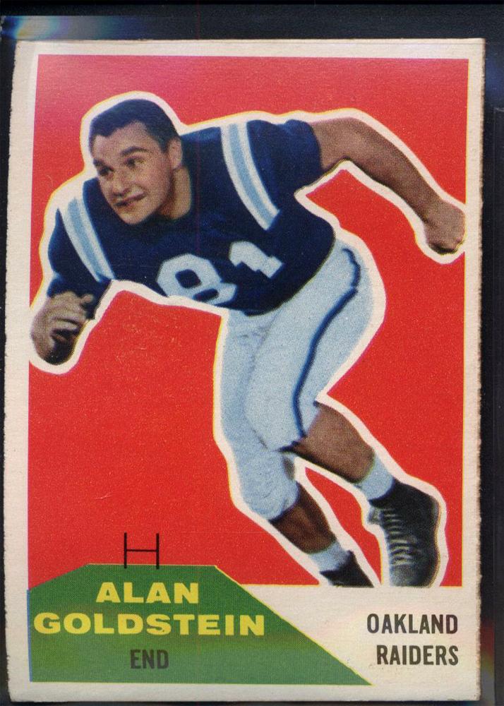 1960 Fleer #108 Alan Goldstein RC