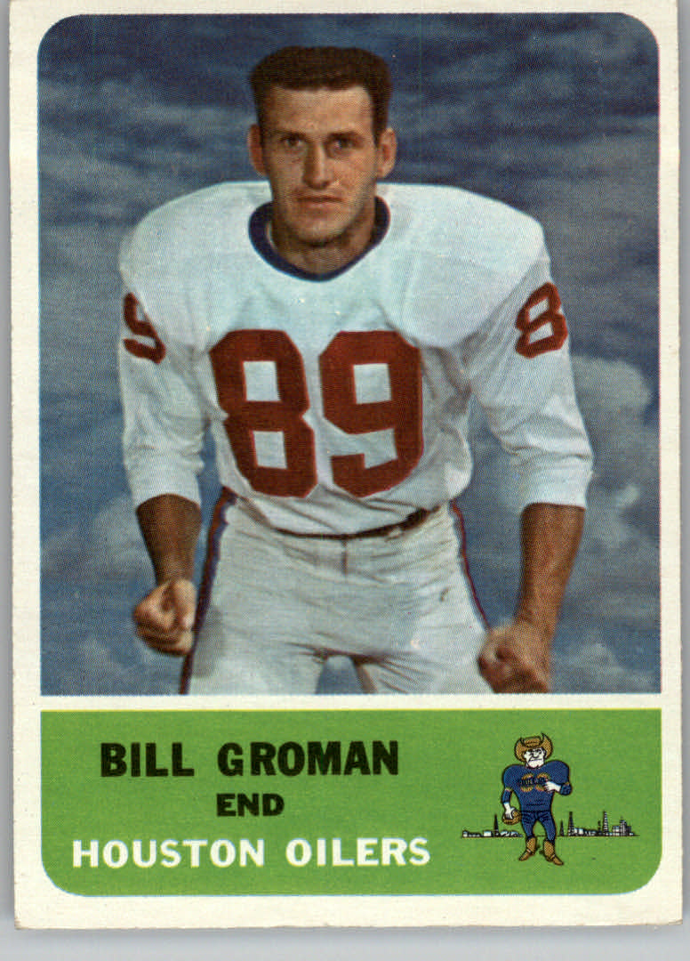 1962 Fleer #49 Bill Groman - NM-MT