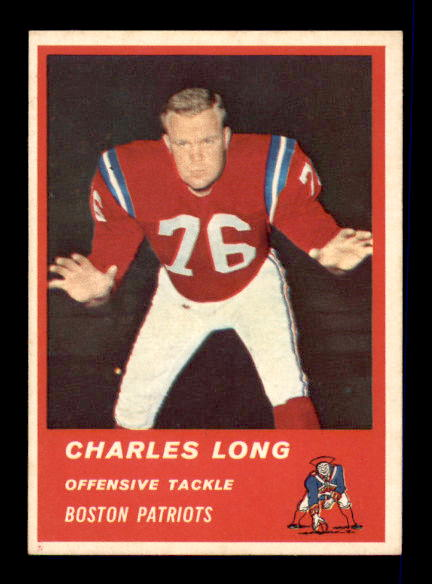 1963 Fleer #6 Charles Long SP RC