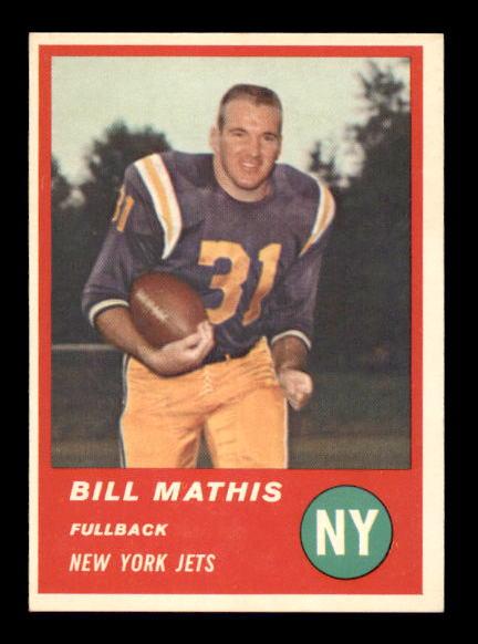 1963 Fleer #12 Bill Mathis