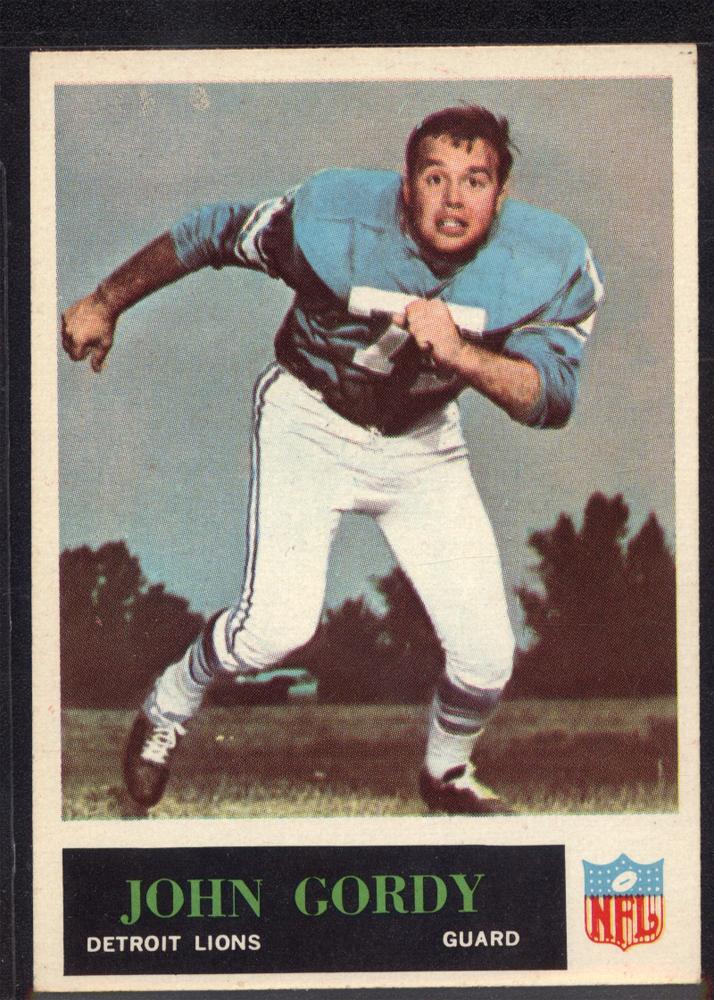 1965 Philadelphia #62 John Gordy