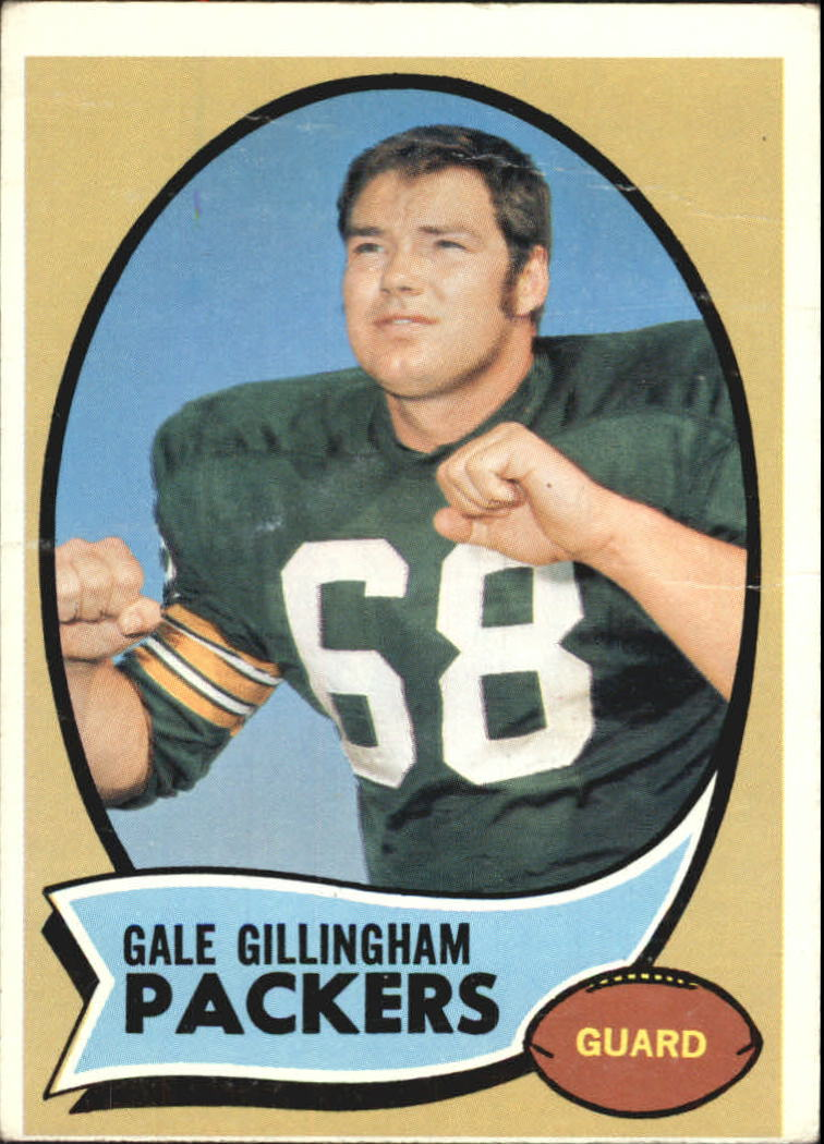 1970 Topps #131 Gale Gillingham RC