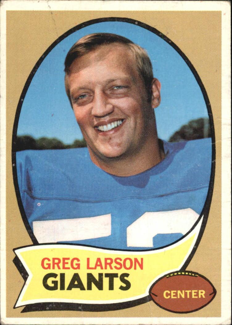 1970 Topps #174 Greg Larson