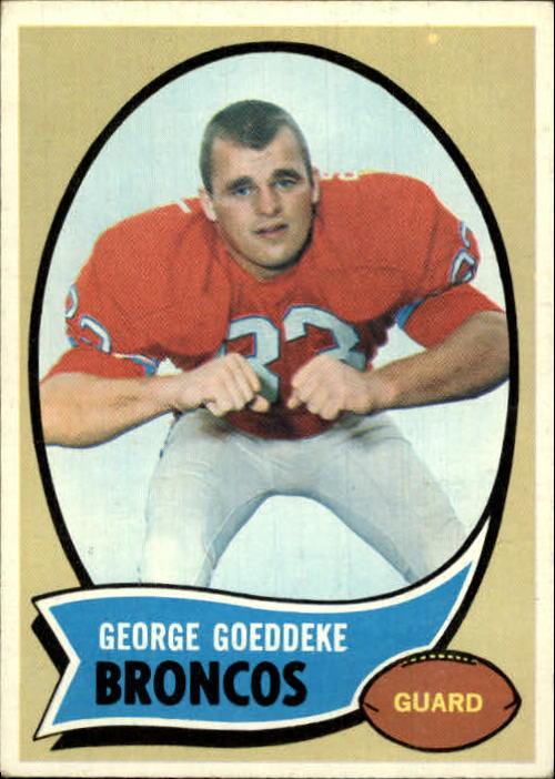 1970 Topps #257 George Goeddeke RC