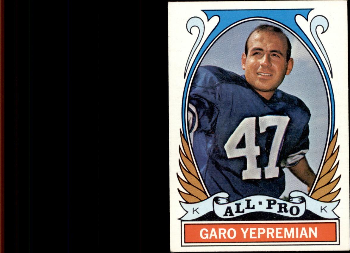 1972 Topps #275 Garo Yepremian AP