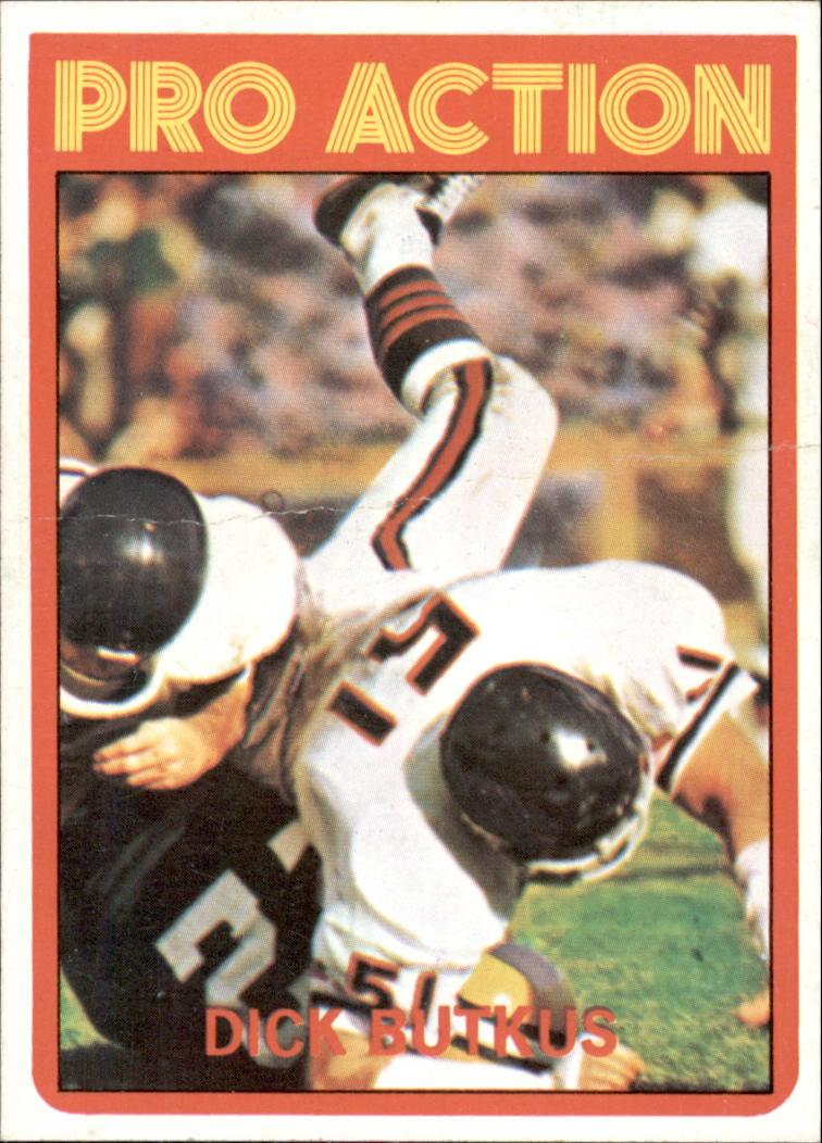 1972 Topps #341 Dick Butkus IA