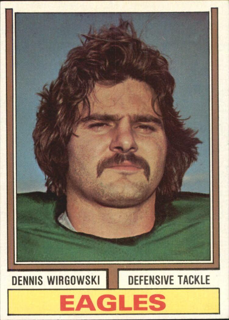 1974 Topps #518 Dennis Wirgowski