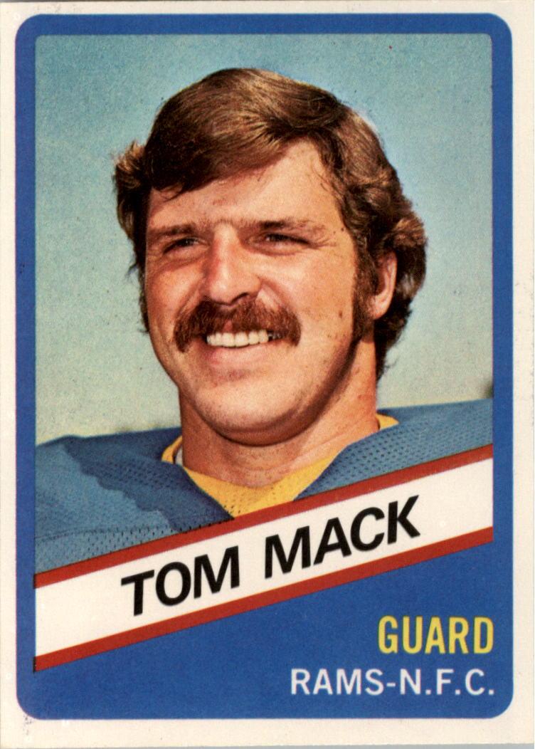 1976 Wonder Bread #10 Tom Mack