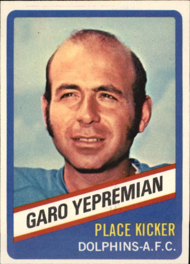 1976 Wonder Bread #12 Garo Yepremian