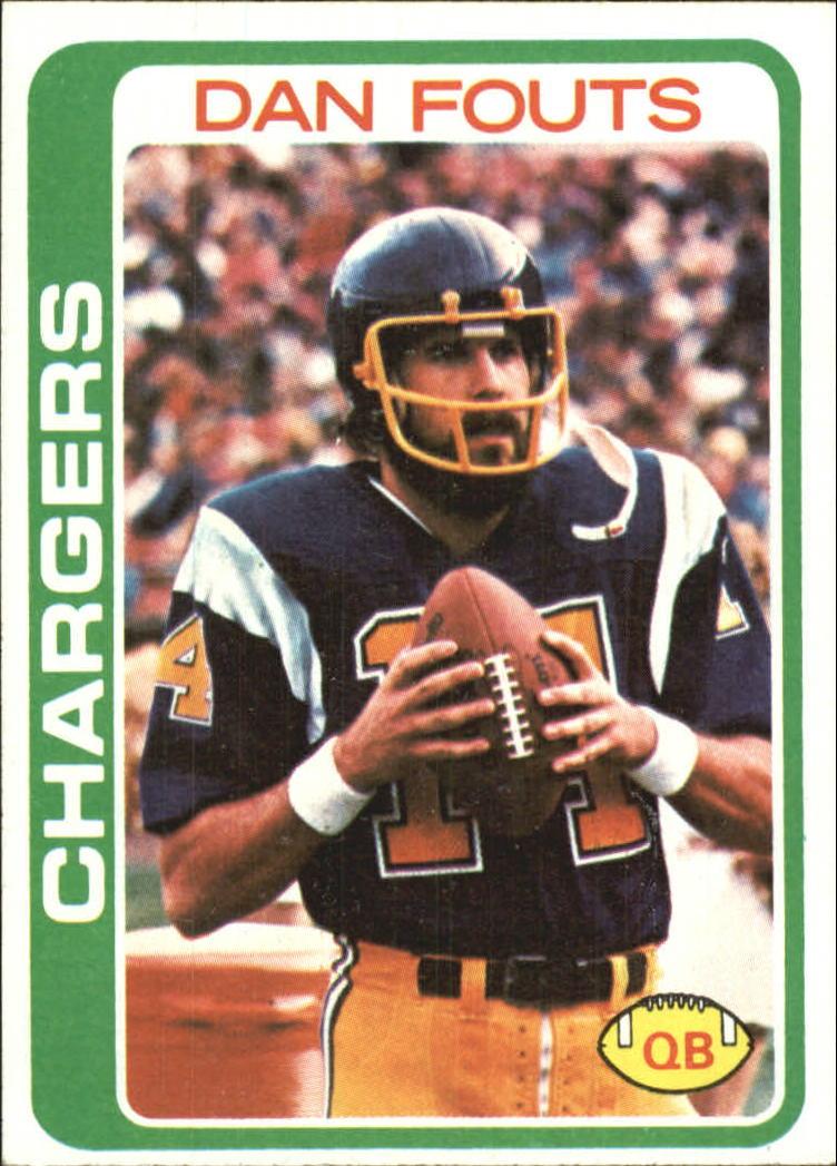 1978 Topps #499 Dan Fouts