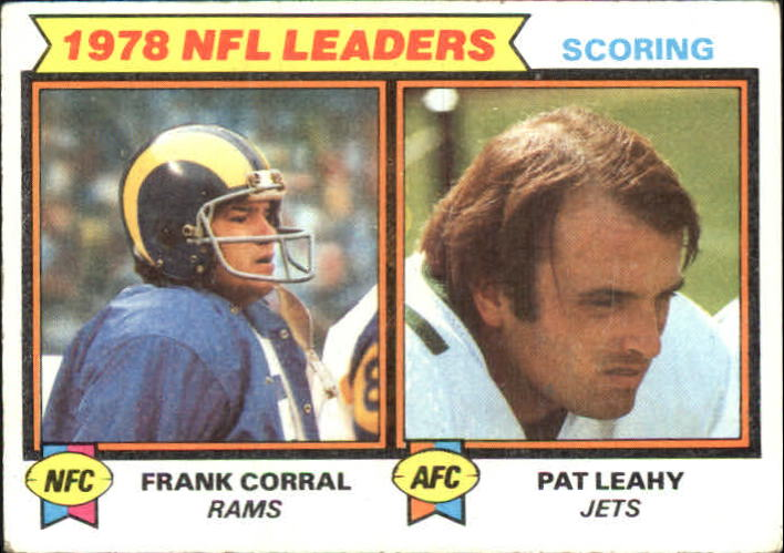 1979 Topps #4 Scoring Leaders/Frank Corral/Pat Leahy