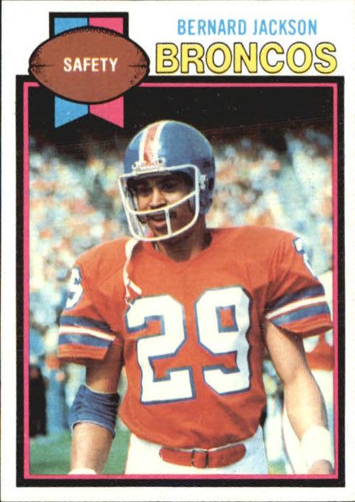 1979 Topps #12 Bernard Jackson